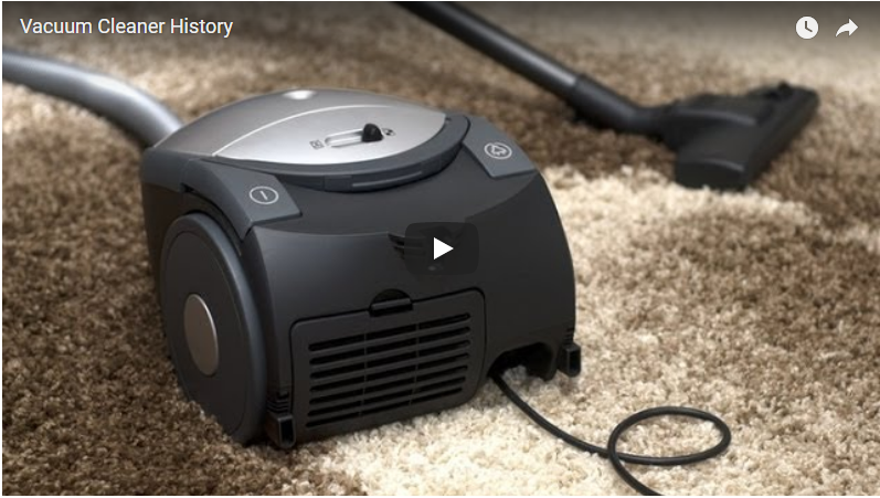Vacuum Cleaner History (Video)